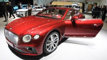 Un auto lujoso y asequible, así es el Bentley Continental GT