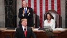 El discurso de Trump recibe aplausos y críticas