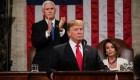 Trump hace un llamado a la unión, pero insiste en los fondos para el muro