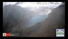 Perú: Se desprende un gran bloque de hielo