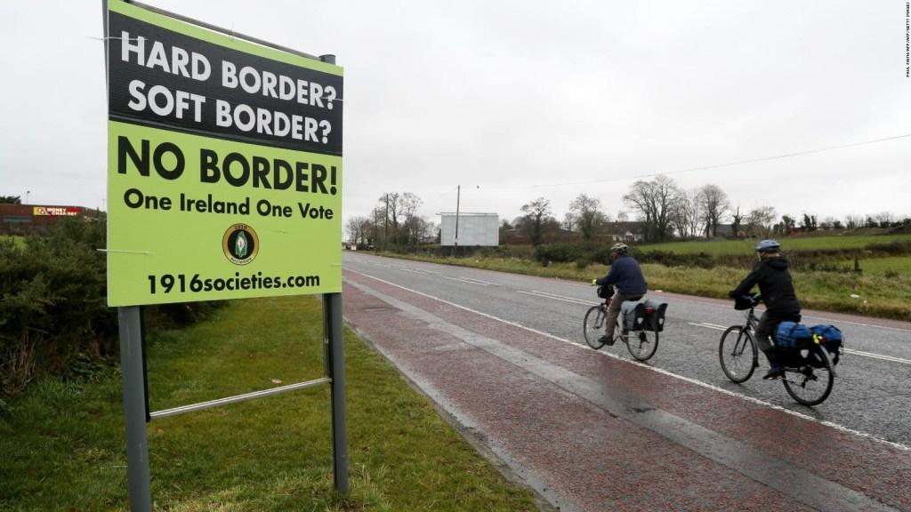 La frontera con Irlanda es el gran escollo para el Brexit