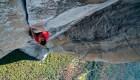 Así se siente escalar una montaña de 900 metros sin cuerdas
