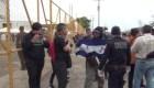 Vigilan a caravana migrante en Piedras Negras, Coahuila