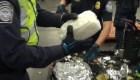 Incautan cargamento de metanfetaminas por valor de US$ 1.000 millones