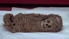Encuentran una momia de un infante de la época Inca