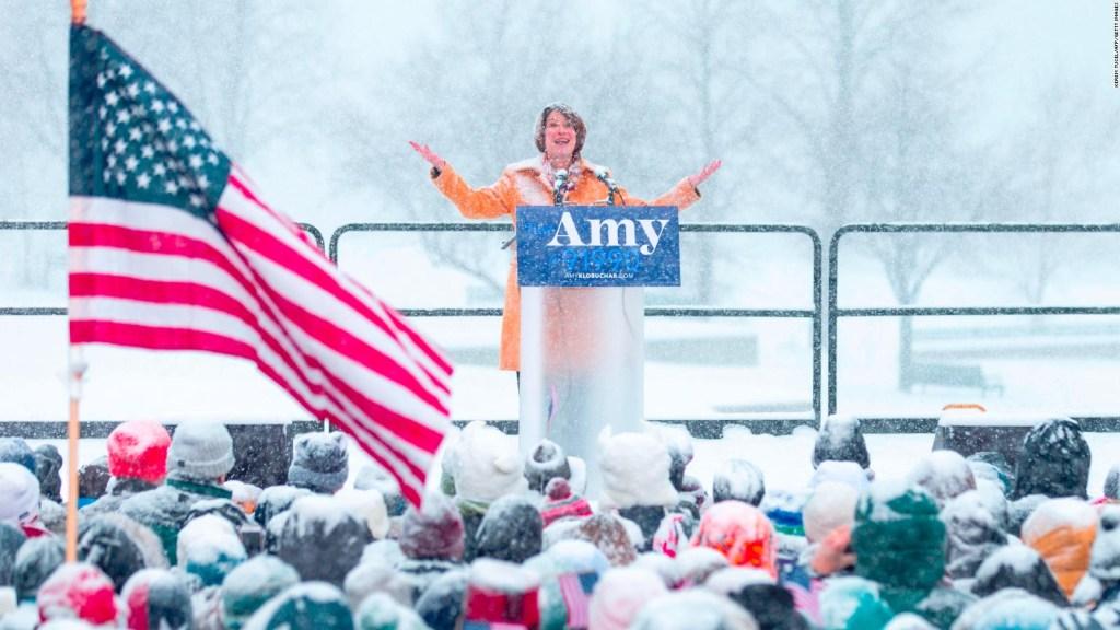 Amy Klobuchar anuncia su precandidatura a la presidencia de EE.UU.