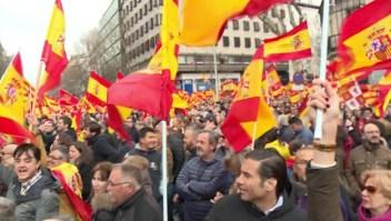 Españoles reivindican elecciones generales