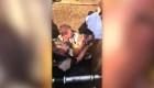 Bebé hallada en un desagüe en Sudáfrica