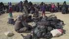 Miles de civiles huyen del terror de ISIS en Siria
