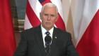 Pence encabeza cumbre en Varsovia sobre paz en Medio Oriente