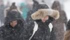 Tormenta invernal paraliza el este de Canadá