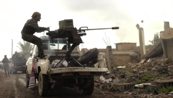 ISIS resiste en un espacio reducido en Siria