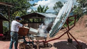 Conoce el café que se procesa con energía solar y se vende bajo comercio justo