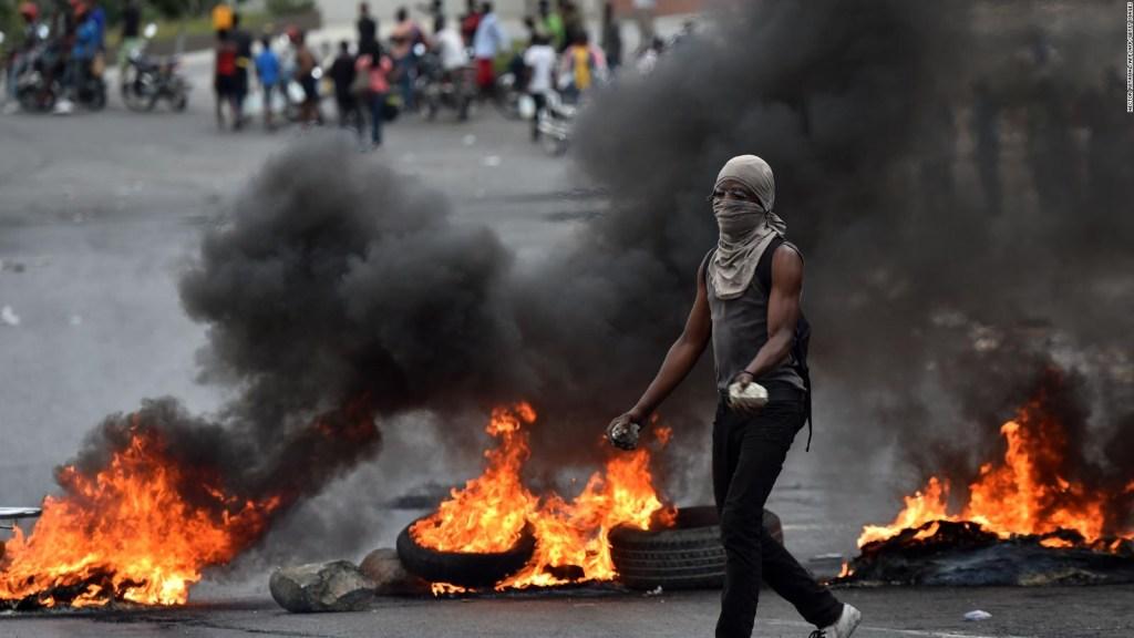 Manifestaciones violentas en Haití contra Moise