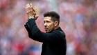 Diego Simeone da las razones para renovar con Atlético de Madrid