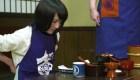 El nuevo reto: comer fideos wanko soba