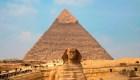 Una maratón alrededor de las pirámides de Guiza