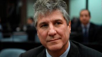 Argentina: Amado Boudou vuelve a prisión