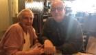 El emotivo encuentro de dos hermanos separados por casi 80 años