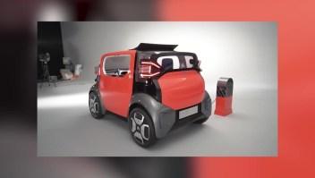 El Ami One, el auto que se maneja bajo el concepto de las patinetas