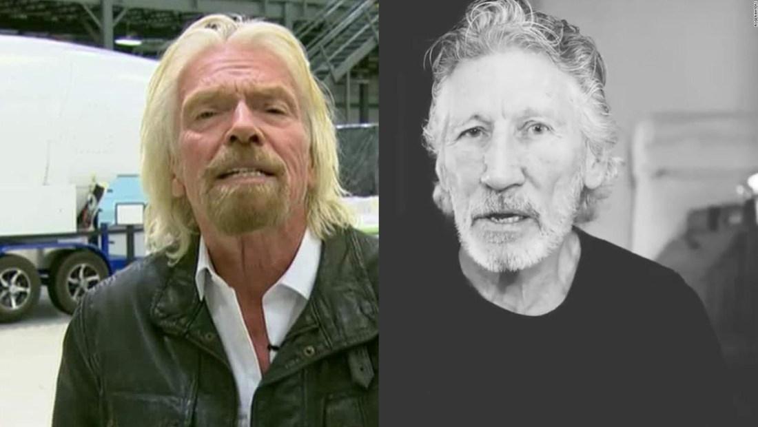 Richard Branson responde a Roger Waters: No sabe de lo que habla