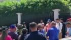 Manifestaciones en sede diplomática en Costa Rica