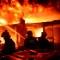Impactantes imágenes del incendio en capital de Bangladesh