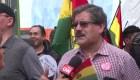 Ciudadanos protestan contra reelección de Evo Morales
