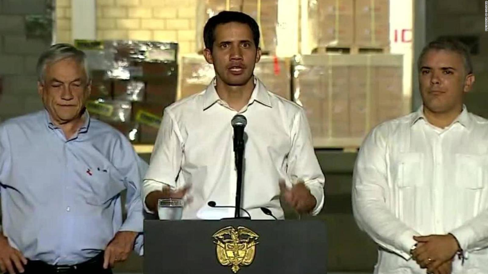 Guaidó: Estoy en Cúcuta porque las FANB participaron