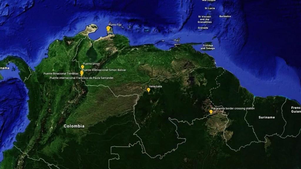 Venezuela: Conoce por donde buscará entrar la ayuda humanitaria