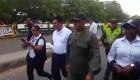 Momento en que soldado venezolano desertó en la frontera