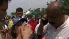 Atacaron a voluntarios en puente Simón Bolívar
