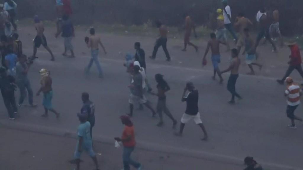 Enfrentamientos en la frontera entre Brasil y Venezuela