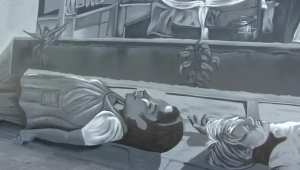 "Homenajean a ""Roma"" en Neza con murales"
