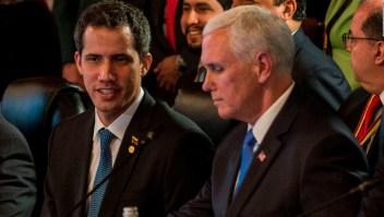 Pence dice que EE.UU. impondrá más sanciones a Venezuela