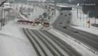 Ballet de barredoras de nieve en Minnesota