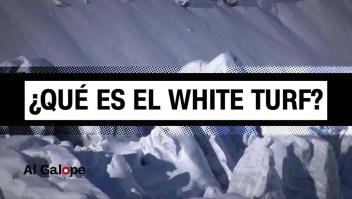 La velocidad, el hielo y los pura sangres. Esto es el White Turf