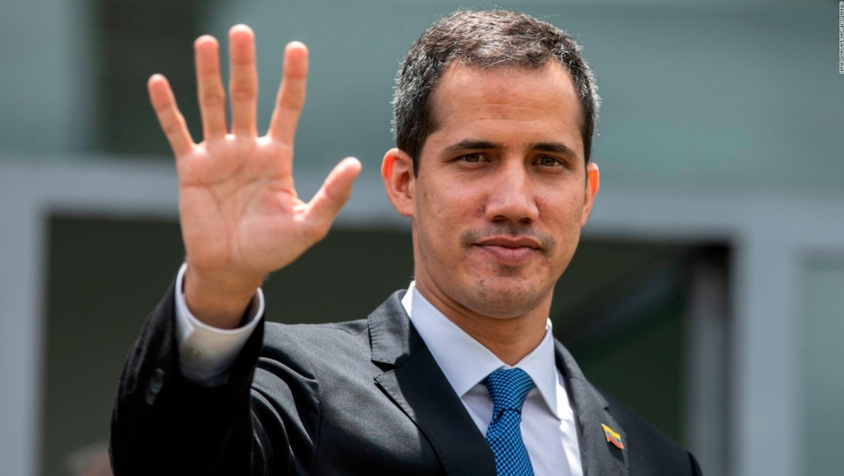 Guaidó: Queremos vivir en paz