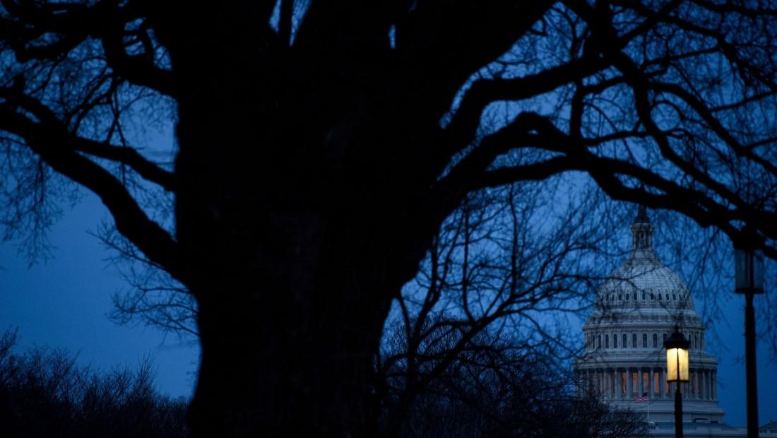 Una imagen del Capitolio, en Washington, el 27 de enero de 2019. Crédito: BRENDAN SMIALOWSKI / AFP / Getty Images.