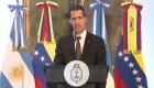 Lo que dijo Juan Guaidó tras reunión con Macri en Buenos Aires