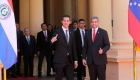 Guaidó refuerza sus lazos con el Gobierno de Paraguay