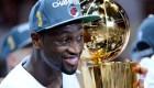 Dwyane Wade en exclusiva: sus 3 títulos de NBA