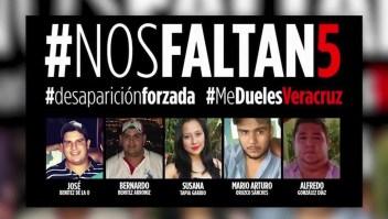 El Gobierno de Veracruz se disculpa por desaparecidos
