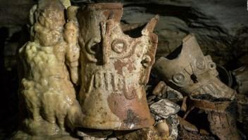 Redescubren un santuario subterráneo en Chinchen Itzá