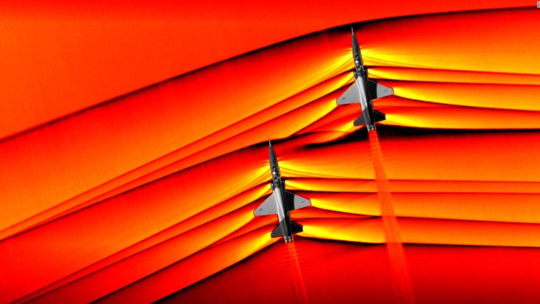 NASA muestra cómo dos jets interactúan con ondas de choque