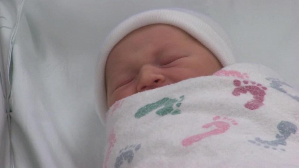 La tasa de nacimientos en Estados Unidos ha bajado notablemente