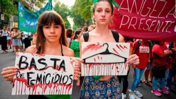 Feminicidios, la herida abierta de Argentina