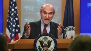 """Abrams es víctima de una """"broma diplomática"""""""