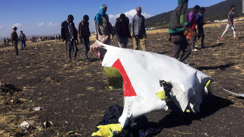 Lo que sabemos sobre el accidente aéreo en Etiopía
