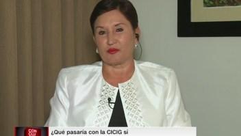 ¿Qué pasaría con la CICIG si Aldana llega a la presidencia de Guatemala?